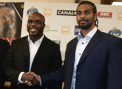 See gallery Jean Marc MORMECK vs David Haye