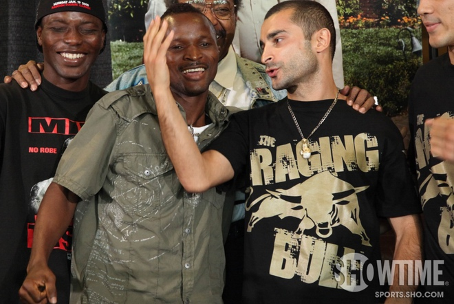 See gallery Joseph Agbeko vs Vic Darchinyan
