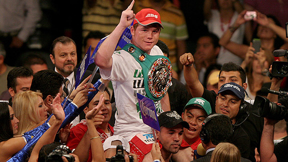 Saul Canelo Alvarez's opponent is finally named