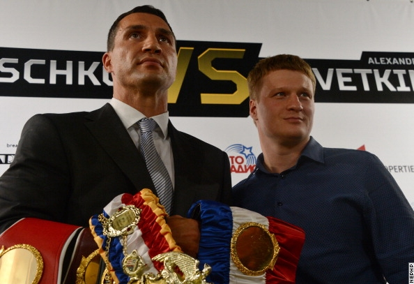 фото Владимир Кличко - Александр Поветкин: пресс-конференция в Москве