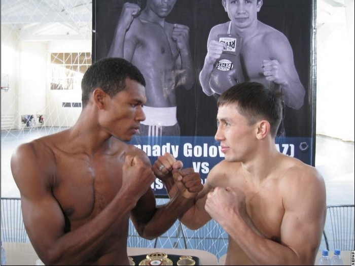 See gallery Gennady Golovkin vs Nilson Julio Tapia