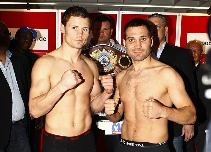 Khoren Gevor Weights Robert Stieglitz vs Khoren Gevor World boxing Boxing