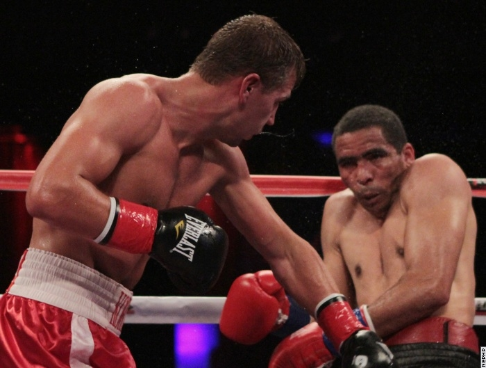 Korobov actually has a fight: Jonathan Gonzalez