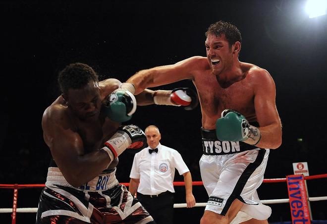 Тайсон Фури назвал имя самого смелого боксера