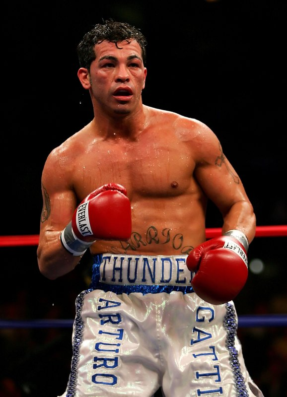 Photo - arturo gatti © afp