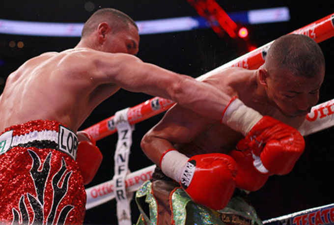 See gallery - Juan Francisco Estrada vs Giovanni Segura