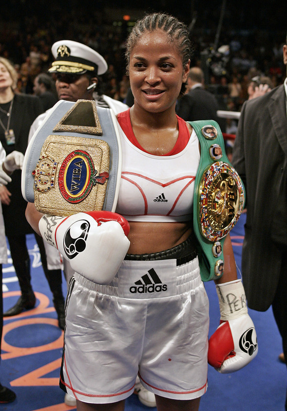 Photos - Laila Ali - Boxing news - BOXNEWS.com.ua