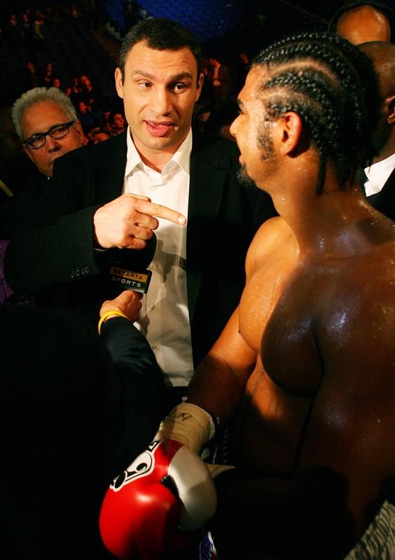Какой логический результат боя Кличко - Хэй?