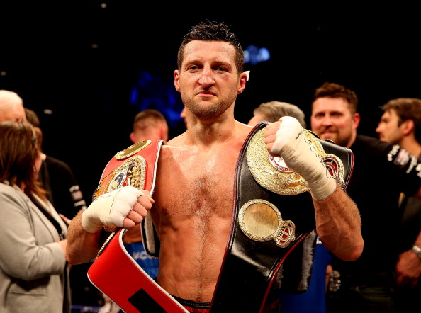 See gallery - Carl Froch
