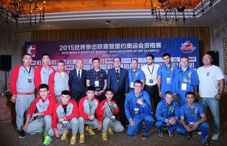 «Украинские атаманы» - «Китайские драконы»