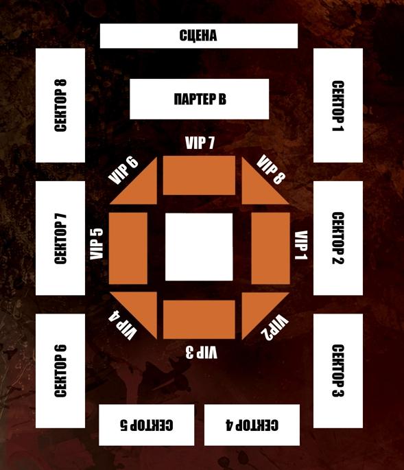 Схема зала киевского Дворца