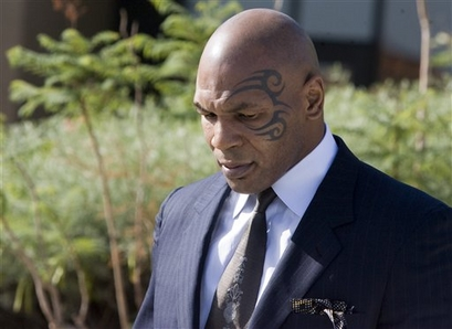 Боксер Майк Тайсон.  Фото с сайта bokssity.ru.